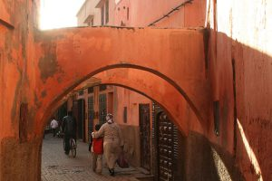 Gassen in Marrakesch