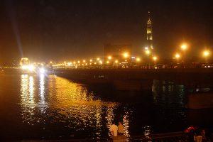Kairo und Nil bei Nacht
