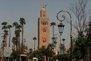 Koutoubia Moschee in Marrakesch