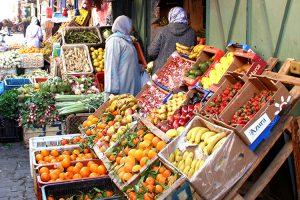 Obststand in Marrakesch