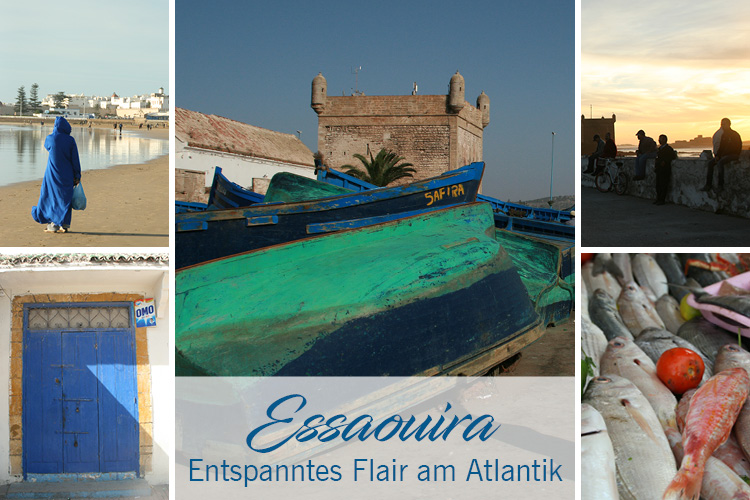 Essaouira am Atlantik, entspanntes Flair