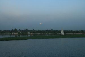 Mondschein am Nil