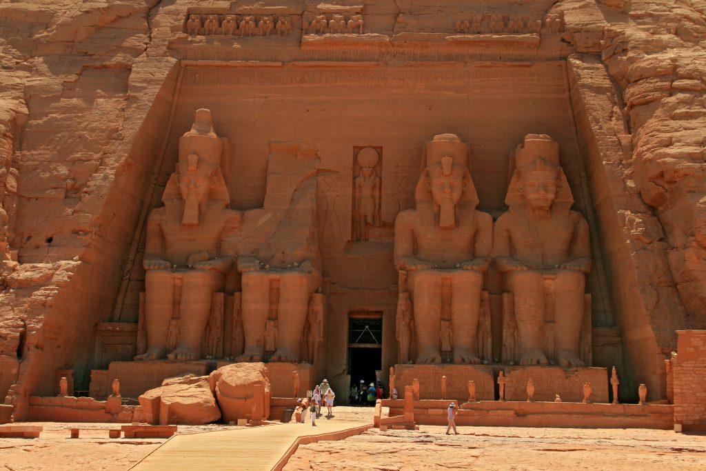 Abu Simbel in Oberägypten