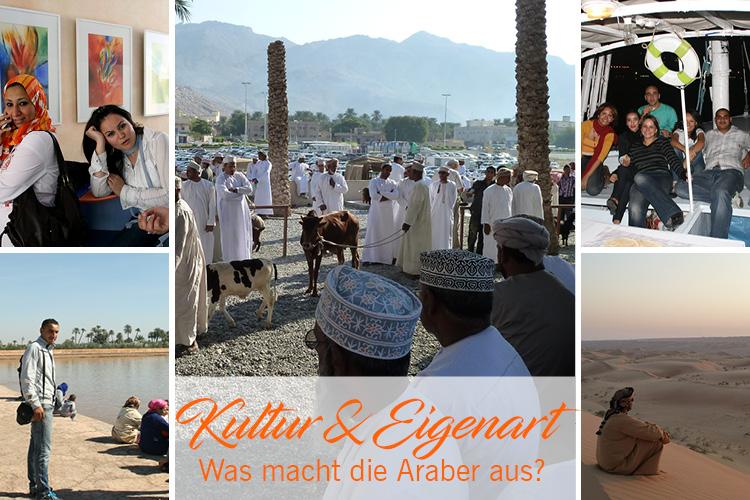 Araber - Ägypter, Marokkaner, Omanis