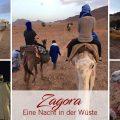 Zagora Eine Nacht in der Wüste