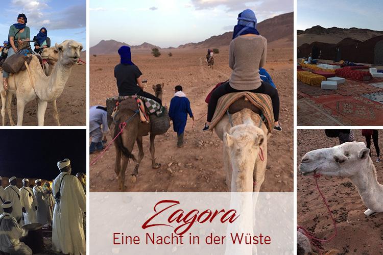 Marokko-Reise – Eine Nacht in der Wüste Zagora