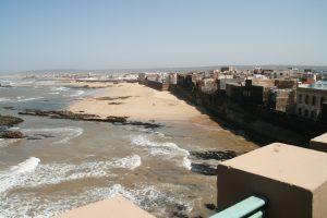 Stadtmauer von Essaouira am Atlantik