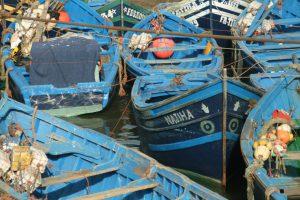Essaouira - Boote am Hafen