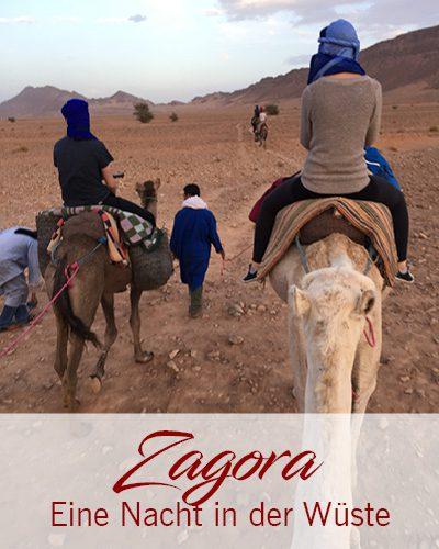 Zagora – Eine Nacht in der Wüste erleben
