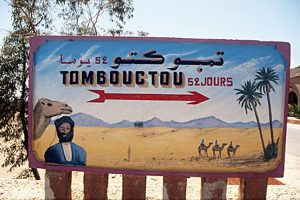 Tombouctou 52 jours - nach Timbuktu 52 Tage