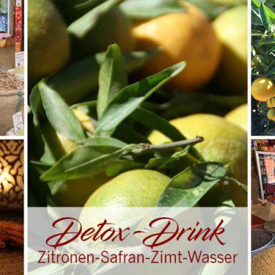 Zitronen-Safran-Zimt-Wasser: Detox-Drink aus Marrakesch