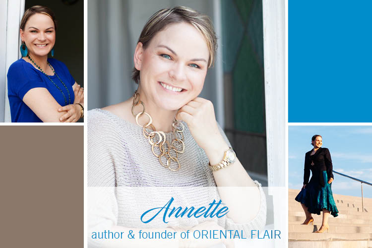 Annette, founder and author of Oriental Flair