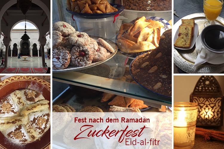 Zuckerfest - Fest nach dem Ramadan - Eid-al-fitr