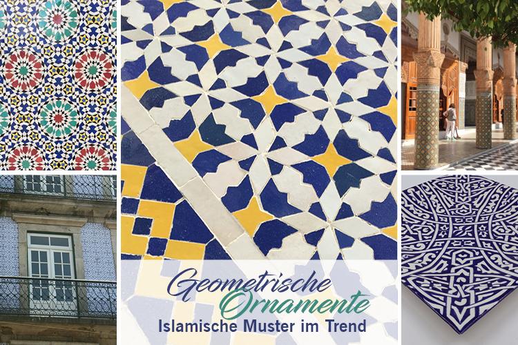 Geometrische Ornamente Islamische Muster