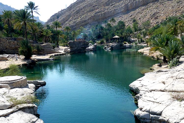 10 Oman Tipps: Wadi Bin Khaled, Oman