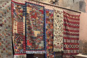 Azilal-Teppiche der Berberfrauen aus Marokko
