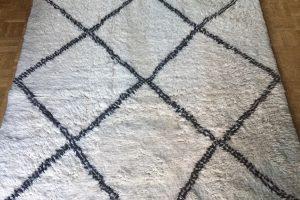 Beni Ourain Teppich - Berberteppich aus Marokko Atlasgebirge