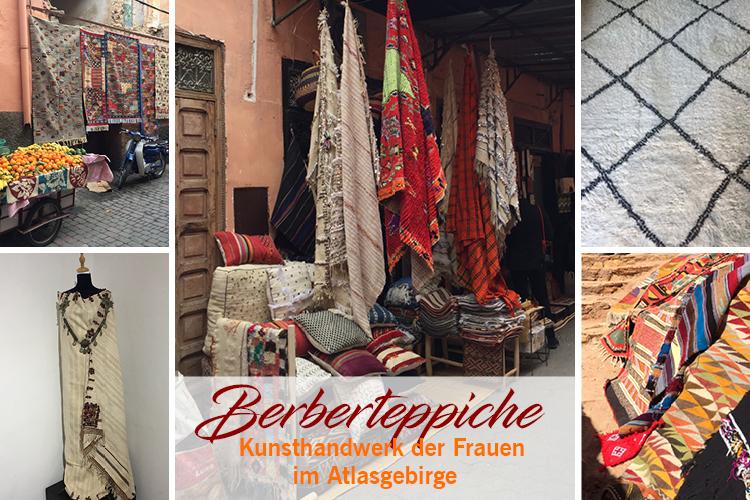Berberteppiche - Kunsthandwerk der Frauen aus dem Atlasgebirge