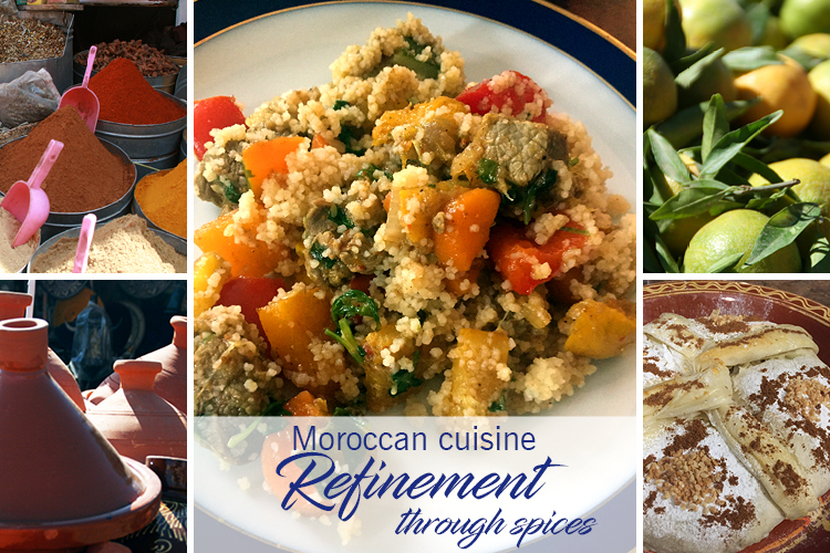 Moroccan cuisine - refinement through spices