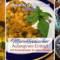Marokkanischer Auberginen-Eintopf_vegetarisch