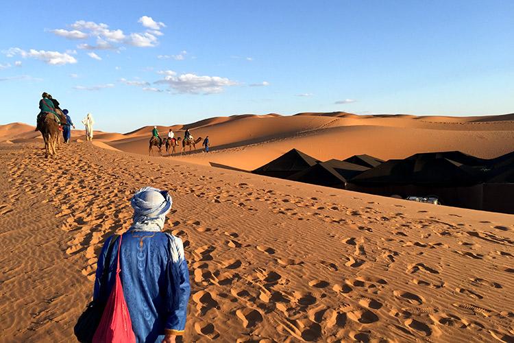 Kamelritt_Erg_Chebbi_Merzouga_Marokko