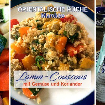 Lamm-Couscous mit Gemüse und Koriander
