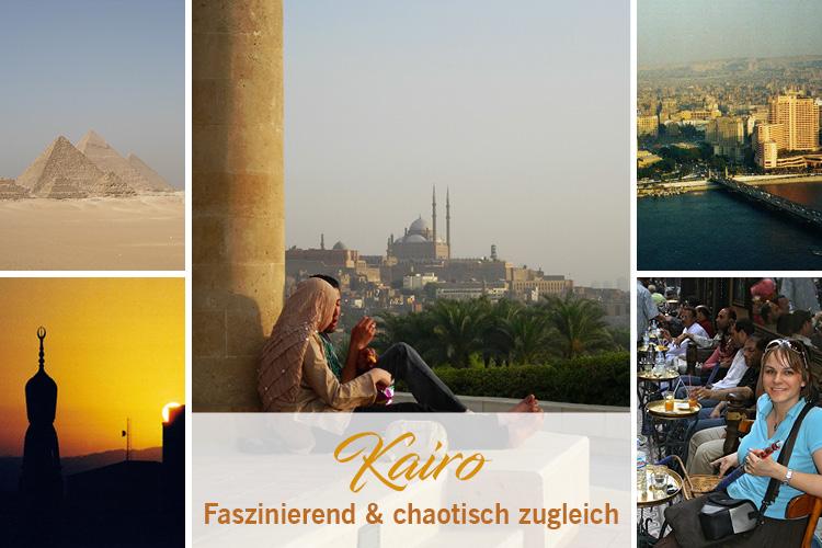 Kairo faszinierend und chaotisch