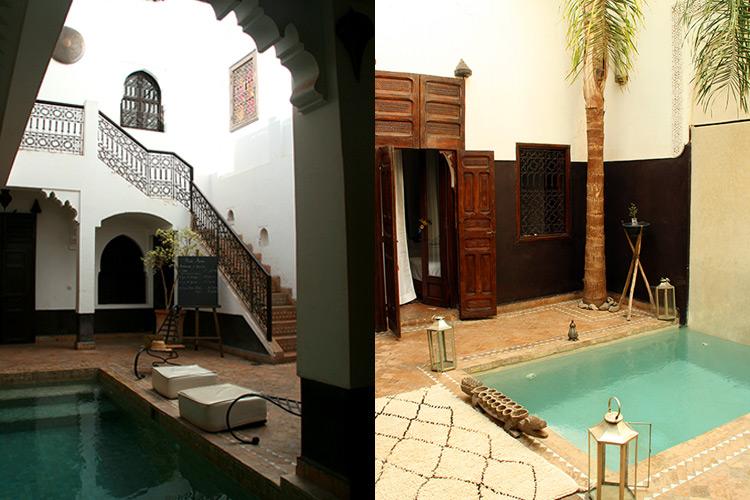 Riad Amin - Innenhöfe