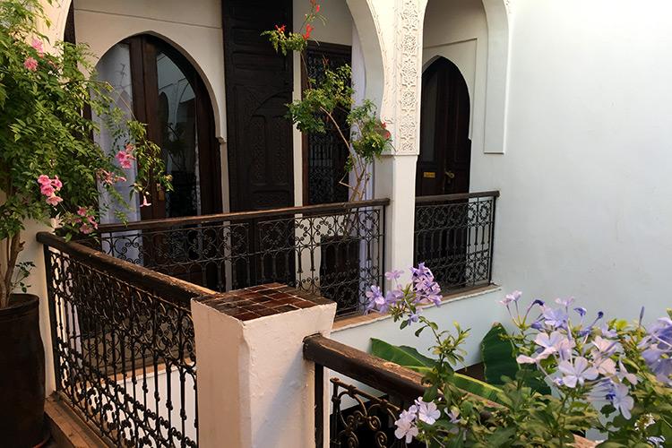 Riad Aya - 1. Stock Innenhof