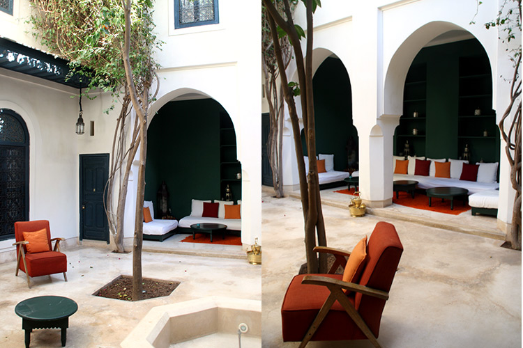 Riad Dar Sara Marrakesch - Innenhof