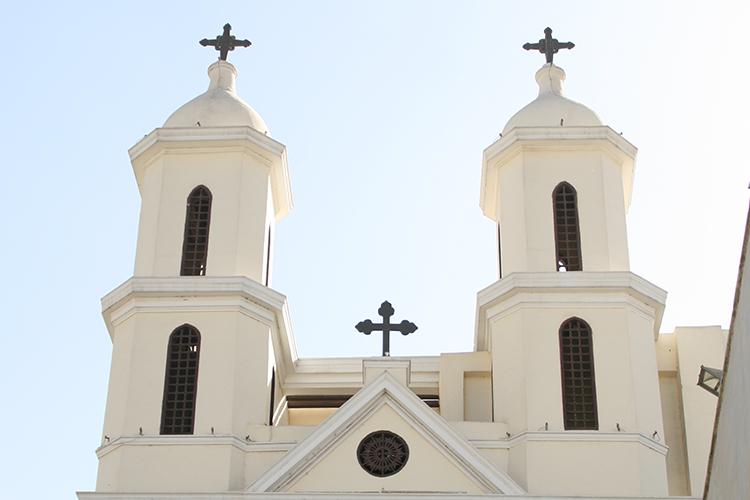 Hängende Kirche im Koptischen Viertel in Kairo