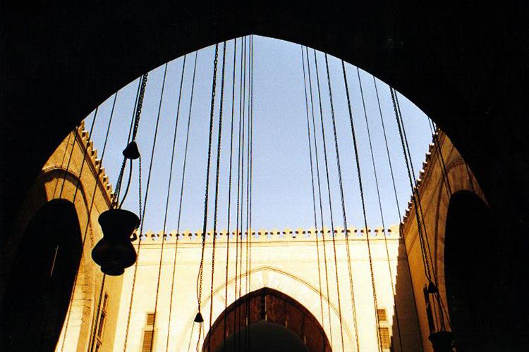 Sultan Hassan Moschee in Kairo
