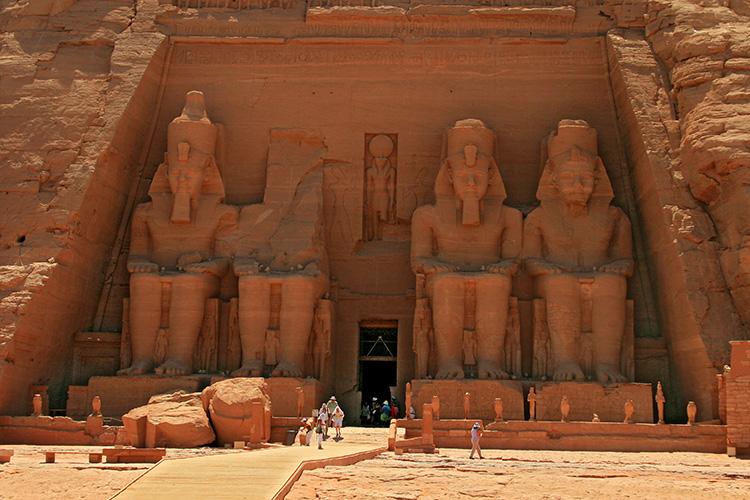 Abu Simbel in Ägypten