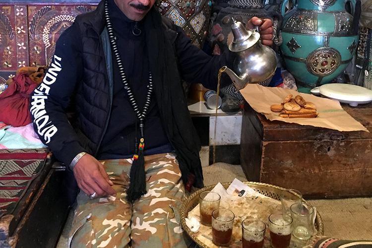 Einladung zum Tee in Marrakesch