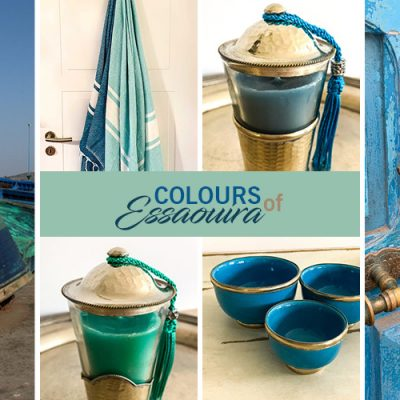 Colours of Essaouira – Meeresfarbene Deko