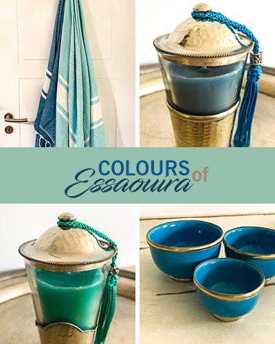 Colours of Essaouira – Meeresfarbene Deko