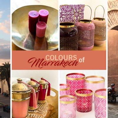 Colours of Marrakech – Deko in Rot, Pink & Rosa