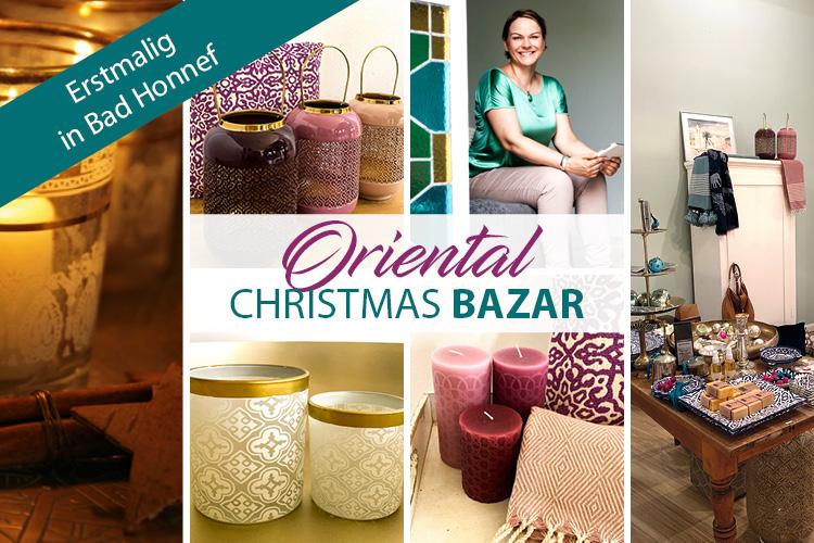 Oriental Christmas Bazar in Bad Honnef, erstmalig in 2020