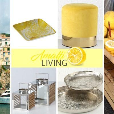 Amalfi LIVING – Wohntrend Zitronen