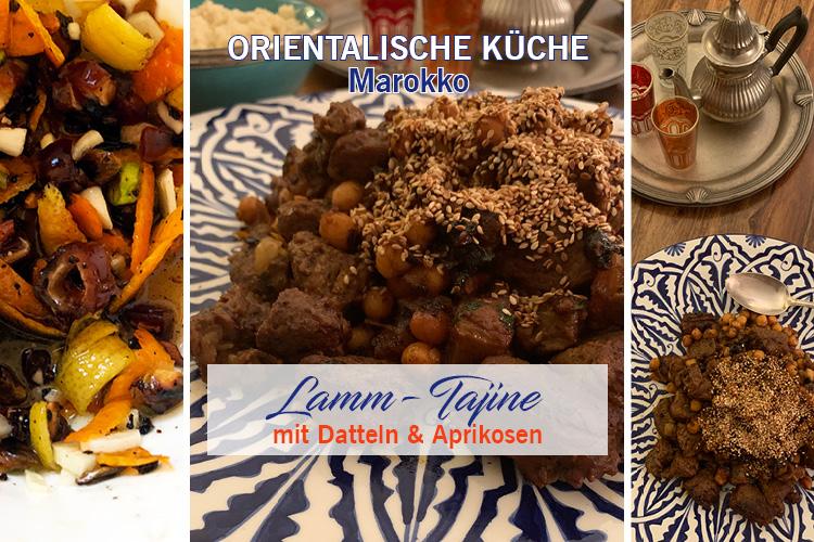 Lamm-Tajine mit Datteln & Aprikosen
